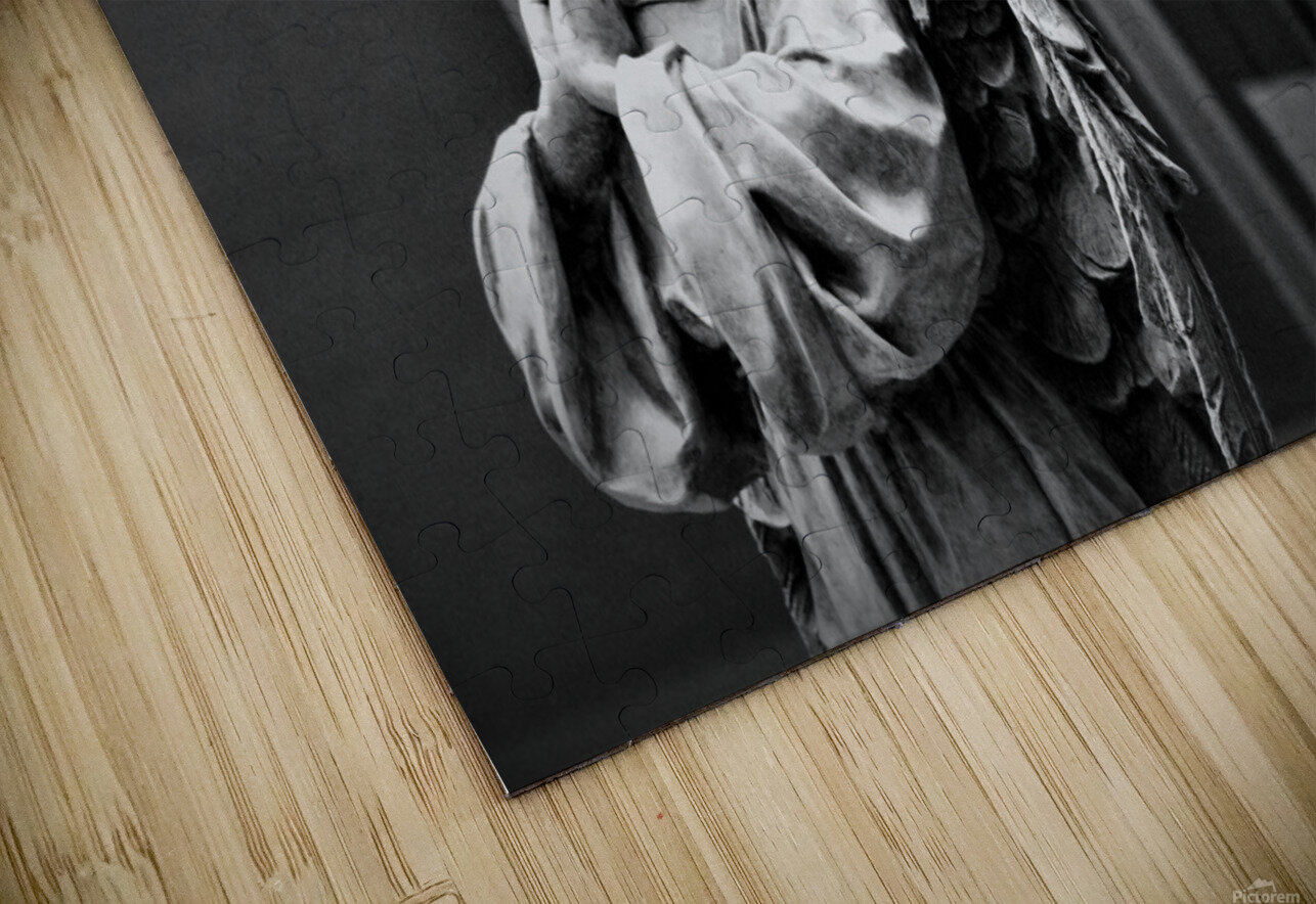 Angel in the Window HD Sublimation Metal print
