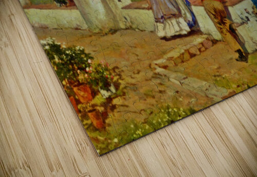 Courting couple in Naples jigsaw puzzle