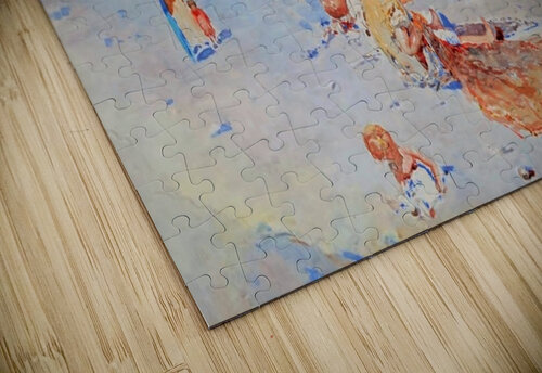 Beach of Mergellina jigsaw puzzle