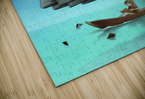 Journey with sharks jigsaw puzzle