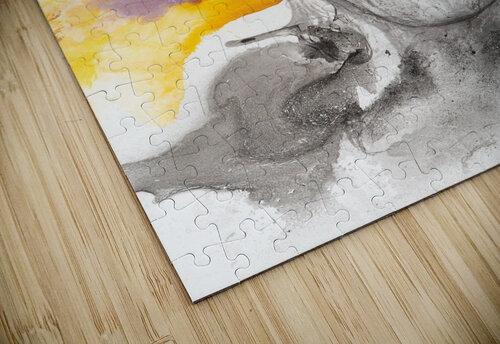 Illustration of a man wearing eyeglasses jigsaw puzzle