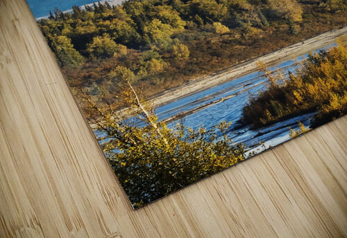 Denali, viewed from the Parks Highway, interior Alaska, near South Viewpoint rest stop; Alaska, United States of America jigsaw puzzle