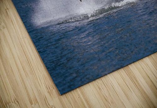 Double Breaching Orcas Bainbridge Passage Prince William Sound Alaska Summer Southcentral jigsaw puzzle