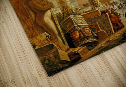 Monuments of Egypt, 1821 jigsaw puzzle