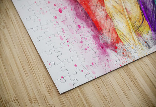feathers jigsaw puzzle