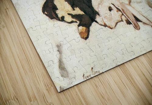 Dead hares by Albin Egger-Lienz jigsaw puzzle