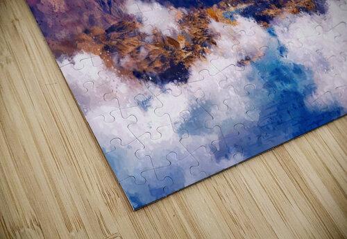 Mountains Artwork II jigsaw puzzle