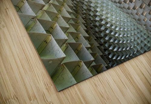Serpentine jigsaw puzzle