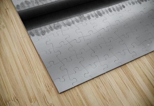 Polderlandscape in reflection jigsaw puzzle