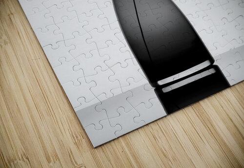 Minimalist jigsaw puzzle