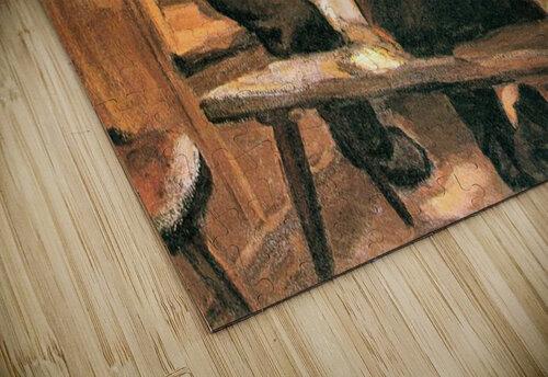 Lunch by Albin Egger-Lienz jigsaw puzzle