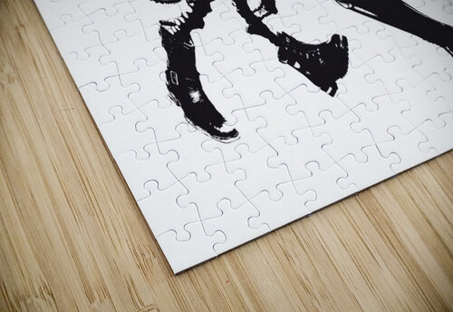Octopus in Boots jigsaw puzzle