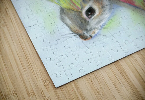 Squirrel in the Autumn Dogwood jigsaw puzzle