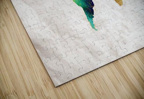 Artistic World Map II jigsaw puzzle