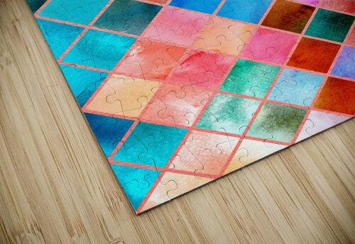 Geometric XXXX jigsaw puzzle