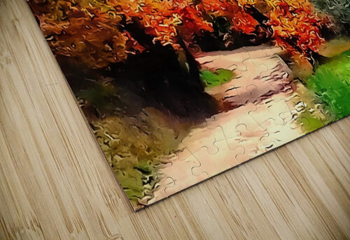 Autumn Golden Colours Umbria jigsaw puzzle