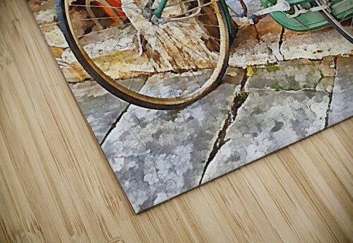 Decorative Bicycle In Cortona jigsaw puzzle