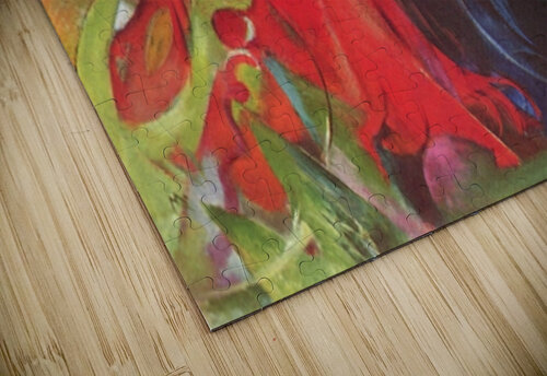 Fighting forms by Franz Marc jigsaw puzzle