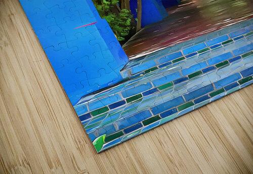 Shady Blue Walkway Marrakech jigsaw puzzle