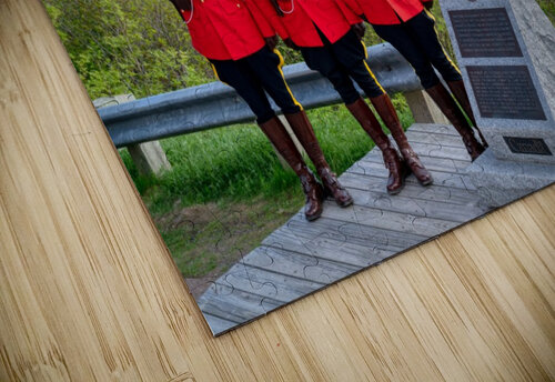 RCMP on French Mountain jigsaw puzzle