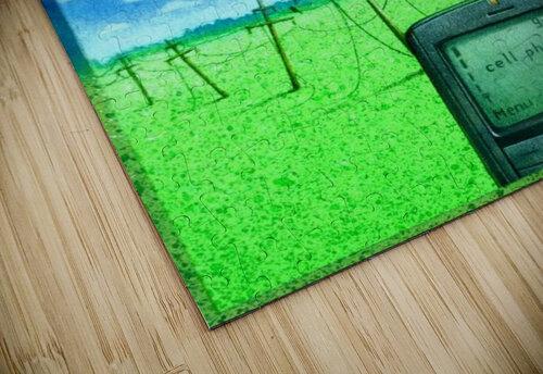 Wireless jigsaw puzzle