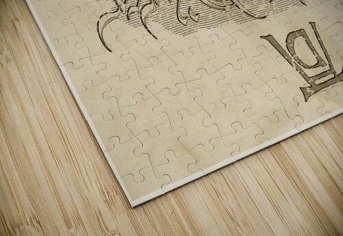 Albrecht Durer Ambigram jigsaw puzzle