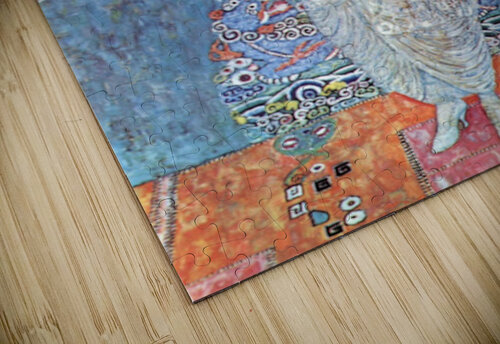 Baroness Elizabeth by Klimt jigsaw puzzle