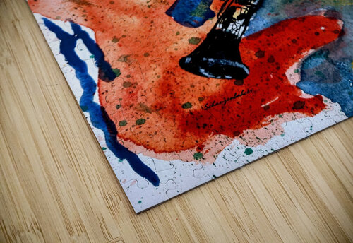 Clarinet watercolor jigsaw puzzle