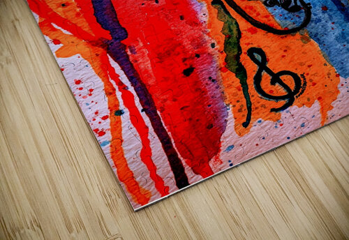 Saxophone Watercolor jigsaw puzzle