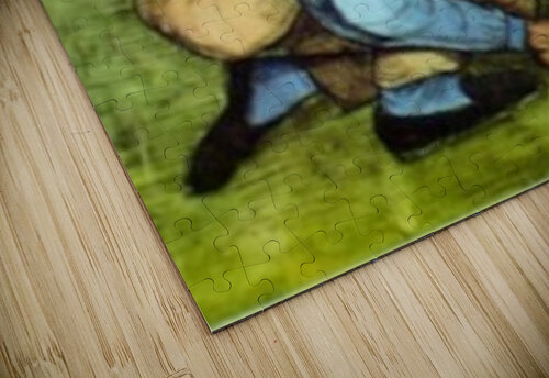 Cutting Grass by Van Gogh jigsaw puzzle