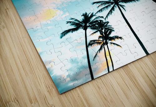 Palm Tree Sunrise jigsaw puzzle