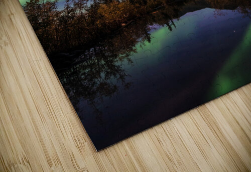 Northern Lights Reflection jigsaw puzzle