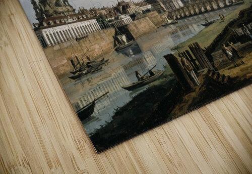 Dresden vom rechten Elbufer jigsaw puzzle