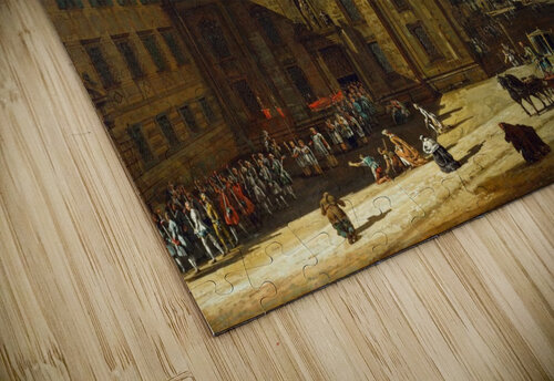 Procession in Dresden jigsaw puzzle