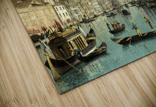 The Grand Canal facing Santa Croce jigsaw puzzle