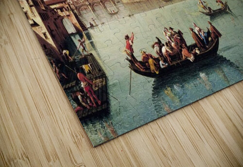 View af the Arno in Florence jigsaw puzzle