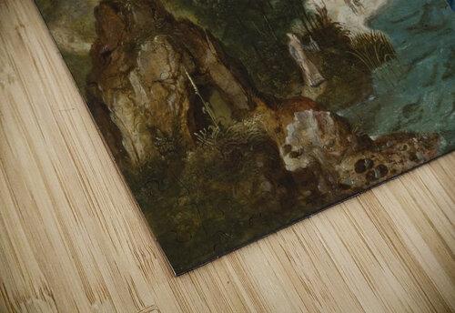 Landschap met Sint Christoffel jigsaw puzzle