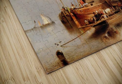Hove van H - The ferry - Sun jigsaw puzzle