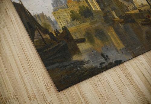 A Capriccio View Of The Hofvijver, The Hague jigsaw puzzle