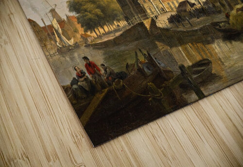 View of a Dutch City jigsaw puzzle