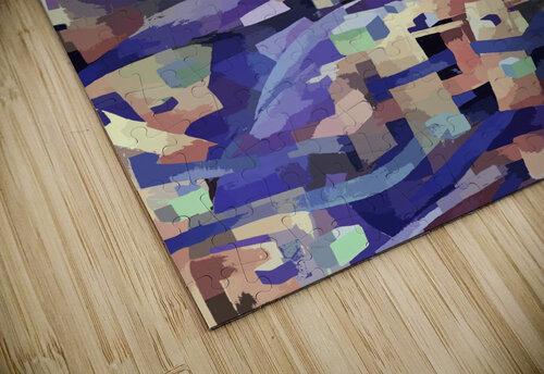 Seamless Geometric Vivid Abstract jigsaw puzzle