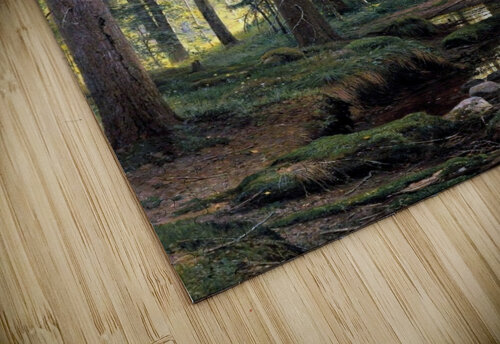Stream by a forest slope jigsaw puzzle