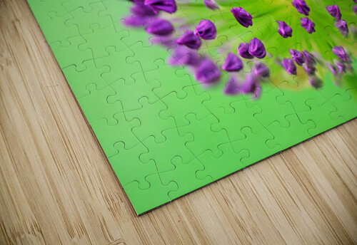Neon Allium jigsaw puzzle