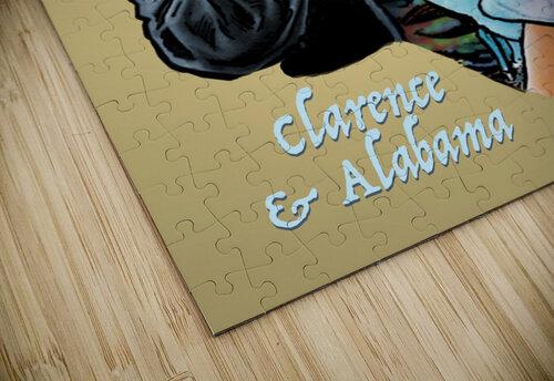 Tarantino: True Romance - Clarence and Alabama jigsaw puzzle