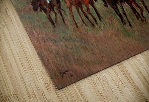 Jockeys in Training by Degas jigsaw puzzle