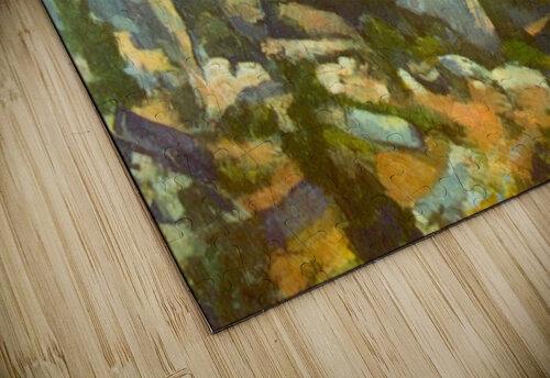 L Estaque by Cezanne jigsaw puzzle