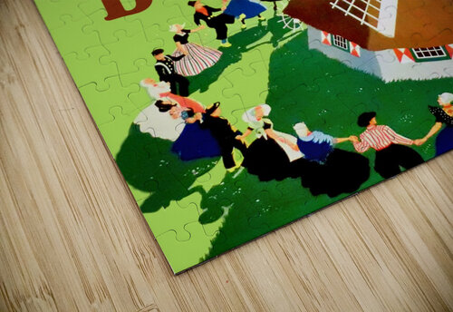 Holland Windmill jigsaw puzzle