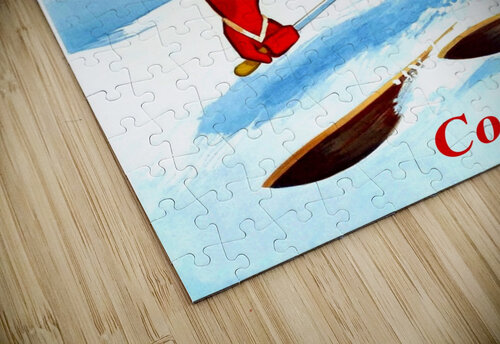 Skiing in Courchevel jigsaw puzzle