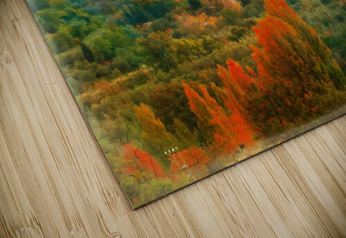 Panicale in Fall jigsaw puzzle