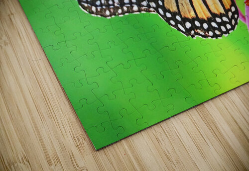 The Beauty Of The Monarch Butterfly jigsaw puzzle